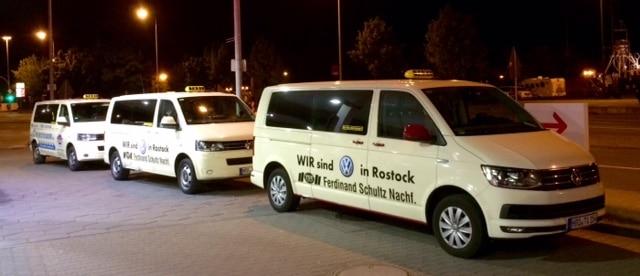 Taxi Rostock - FC Hansa auf der Hansesail