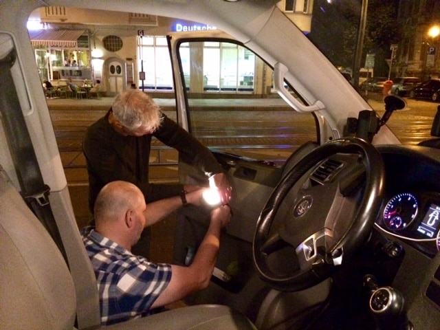 Taxi Rostock - Fernsehbeitrag bei NTV