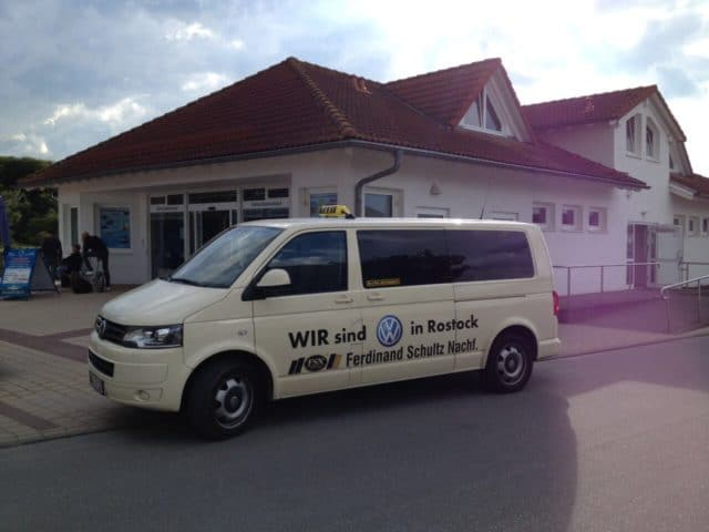 Taxi Rostock – Laage nach Schaprode