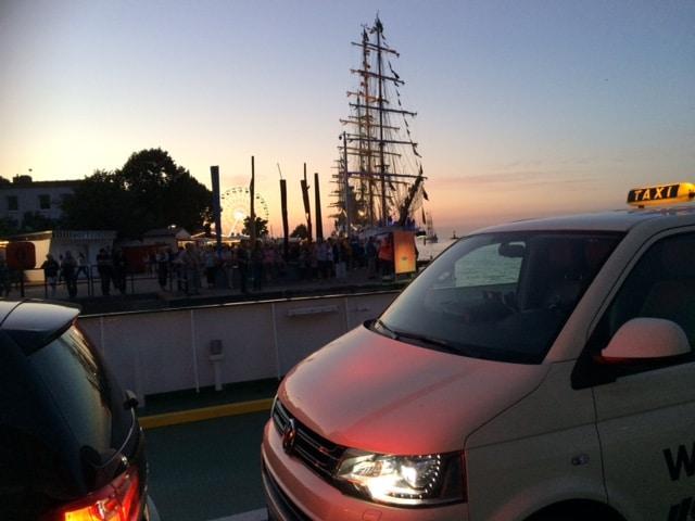 Taxi Rostock - Unterwegs auf der Hansesail