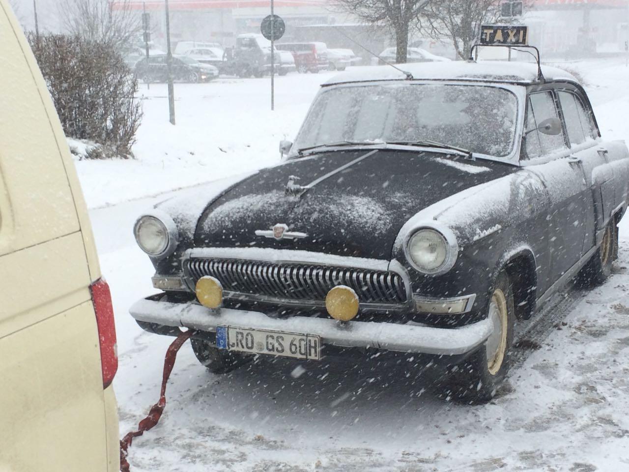 Taxi Rostock hilft Taxi Oldtimer Bild 1