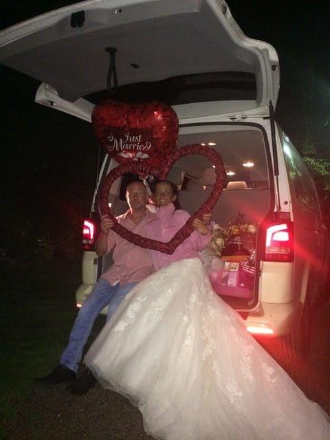 Taxi Rostock Hochzeit in Parkentin Bild 1