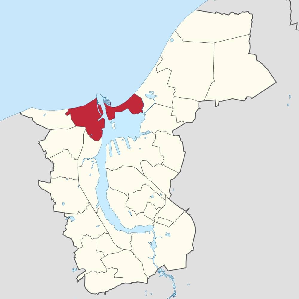 Stadtgebiet - Nord