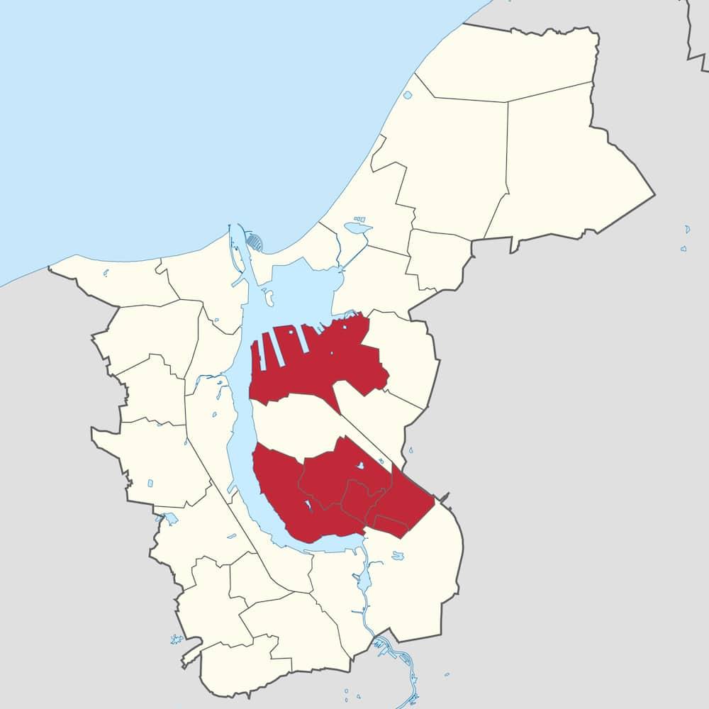 Stadtgebiet - Ost